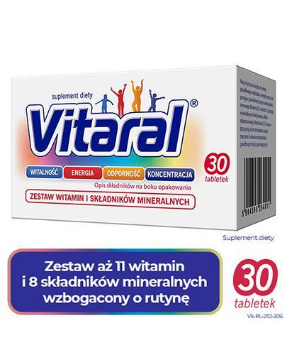 VITARAL - 30 tabl.