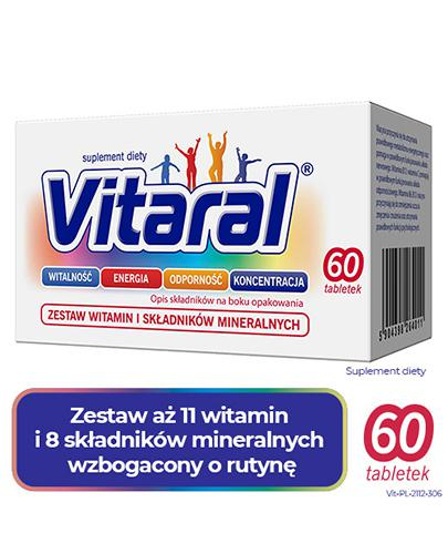 VITARAL - 60 tabl. - Drogeria Melissa
