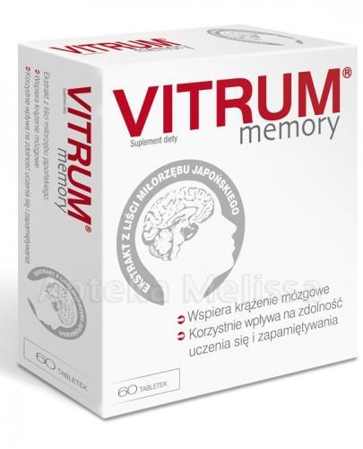 VITRUM MEMORY - 60 tabl. - Apteka internetowa Melissa