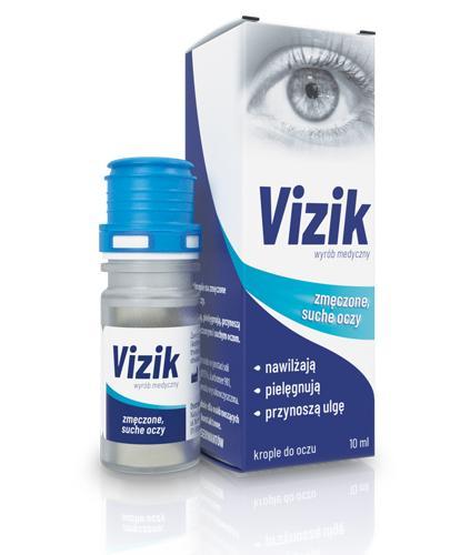 c733d41217756f VIZIK Nawilżające krople do oczu - 10 ml - do suchych i zmęczonych oczu -  cena