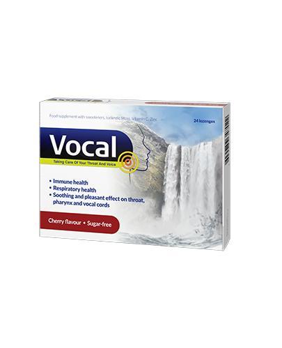 Vocal o smaku wiśni - 24 past. miękkie - cena, opinie, właściwości