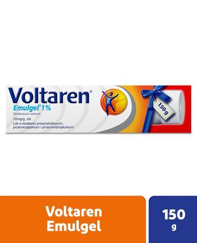 VOLTAREN EMULGEL 1% Lek przeciwbólowy i przeciwzapalny - żel 150 g