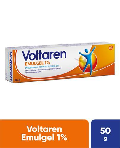VOLTAREN EMULGEL 1% Lek przeciwbólowy i przeciwzapalny - żel 50 g