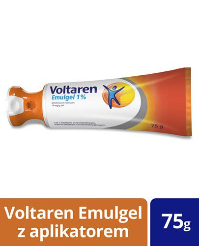 VOLTAREN EMULGEL 1% Lek przeciwbólowy i przeciwzapalny - żel 75 g