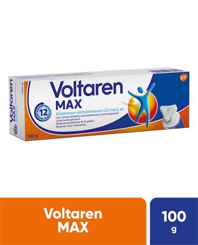 VOLTAREN MAX ŻEL - 100 g - lek przeciwbólowy i przeciwzapalny - cena, opinie, stosowanie - Apteka internetowa Melissa