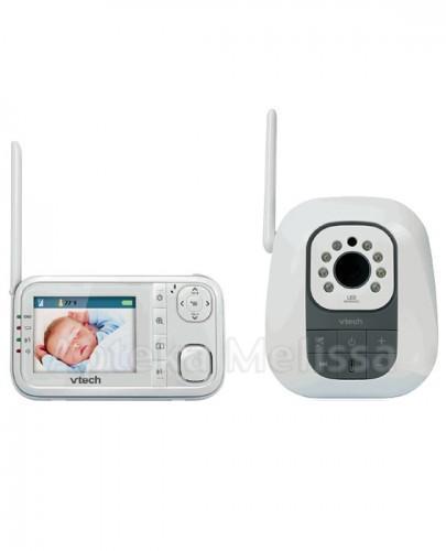 VTECH Cyfrowa niania elektroniczna z kamerką i monitorkiem - 1 szt. - Apteka internetowa Melissa