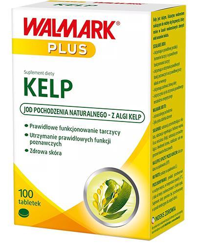 WALMARK KELP 150 µg - 100 tabl. - cena, opinie, wskazania - Apteka internetowa Melissa