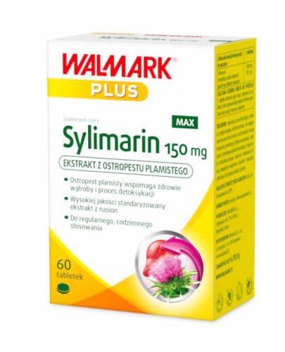 WALMARK SYLIMARIN MAX 150 mg - 60 tabl. Dla zdrowia wątroby. - Apteka internetowa Melissa