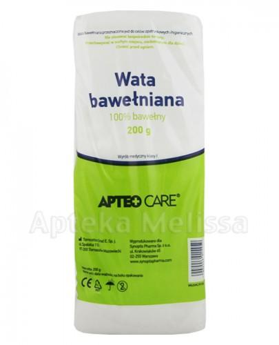 APTEO CARE Wata bawełniana - 200 g - Apteka internetowa Melissa