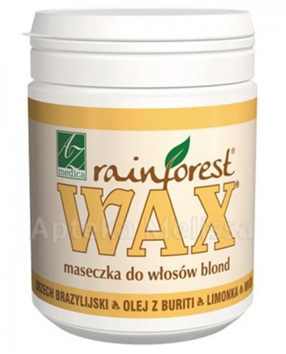 WAX RAINFOREST Maseczka do włosów blond - 250 ml - cena, opinie, właściwości - Drogeria Melissa