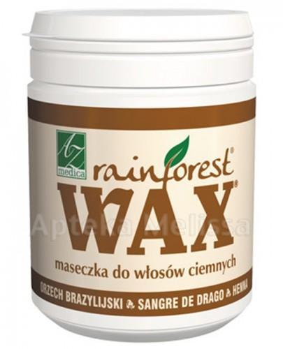 WAX RAINFOREST Maseczka do włosów ciemnych - 250 ml - cena, opinie, właściwości - Drogeria Melissa