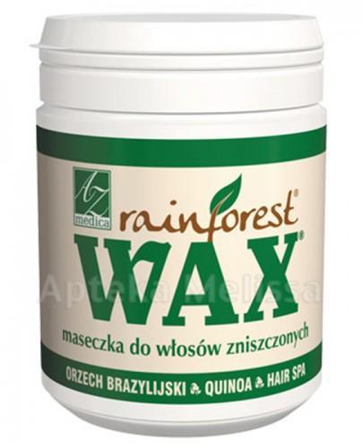 WAX RAINFOREST Maseczka do włosów zniszczonych - 250 ml - cena, opinie, właściwości - Apteka internetowa Melissa