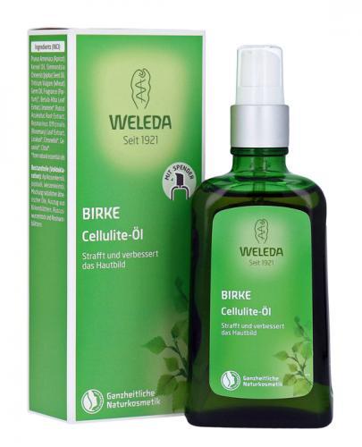 WELEDA BIRKE Olejek z brzozy przeciw cellulitowi - 100 ml - Apteka internetowa Melissa