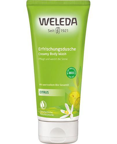 WELEDA CITRUS Kremowy płyn do mycia ciała - 200 ml - Apteka internetowa Melissa