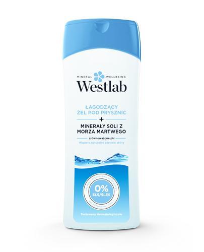 WESTLAB Łagodzący żel pod prysznic z minerałami soli z morza martwego - 400 ml - cena, stosowanie, opinie  - Drogeria Melissa