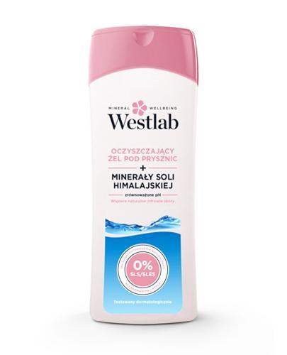 WESTLAB Oczyszczający żel pod prysznic z minerałami soli himalajskiej - 400 ml - cena, stosowanie, opinie