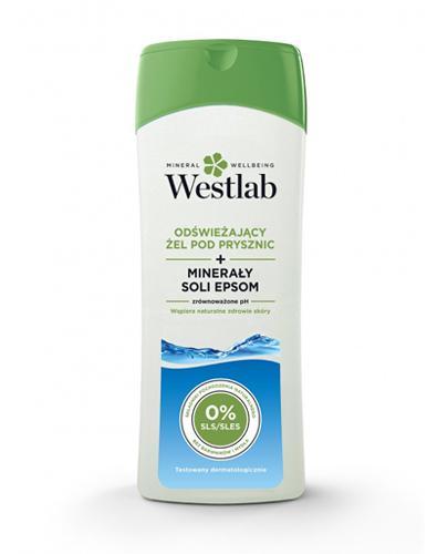 WESTLAB Odświeżający żel pod prysznic z minerałami soli epsom - 400 ml - cena, stosowanie, opinie