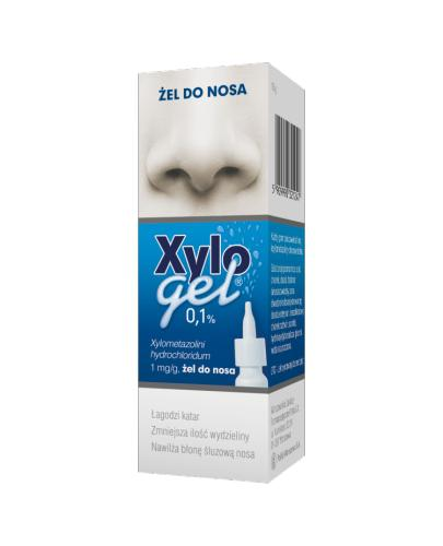 XYLOGEL Żel do nosa 0,1% - 10 g - Apteka internetowa Melissa