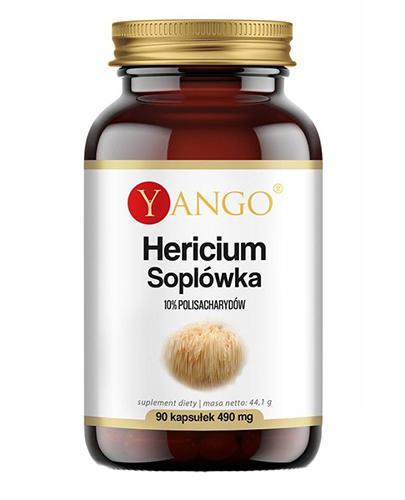 Yango Hericium Soplówka 490 mg - 90 kaps.- cena, opinie, składniki - Apteka internetowa Melissa