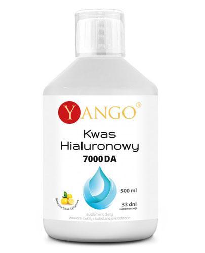 YANGO Kwas Hialuronowy 7000 DA - 500  ml Na skórę i stawy - cena, opinie, stosowanie - Apteka internetowa Melissa
