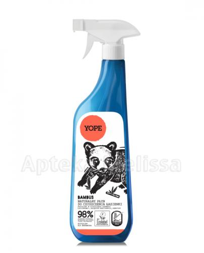 YOPE Bambus Naturalny płyn do czyszczenia łazienki - 750 ml - Apteka internetowa Melissa