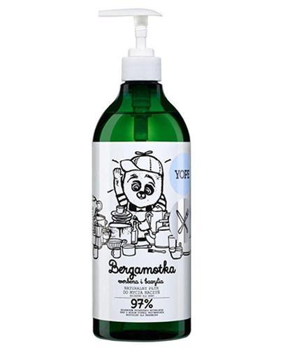 YOPE Bergamotka Płyn do mycia naczyń - 750 ml - Apteka internetowa Melissa
