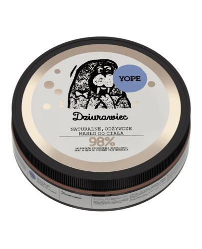 YOPE Dziurawiec Naturalne odżywcze masło do ciała - 200 ml - regeneracja - cena, właściwości, opinie