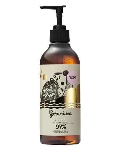 YOPE Geranium Żel pod prysznic - 400 ml - Apteka internetowa Melissa