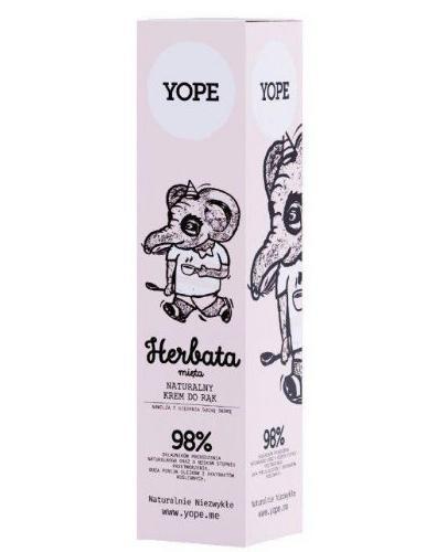 YOPE Herbata & Mięta Krem do rąk - 100 ml - Apteka internetowa Melissa