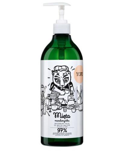 YOPE Mięta & Mandarynka Płyn do mycia naczyń - 750 ml - Apteka internetowa Melissa