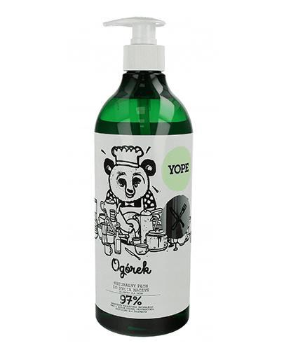 YOPE Ogórek Płyn do mycia naczyń - 750 ml