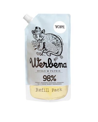 YOPE Werbena Mydło w płynie, zapas - 500 ml - Apteka internetowa Melissa
