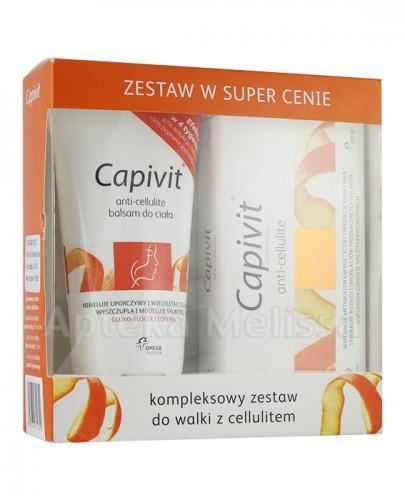 CAPIVIT ANTI-CELLULITE - 30 kaps. + Balsam do ciała - 150 ml + Poradnik żywieniowy - Apteka internetowa Melissa