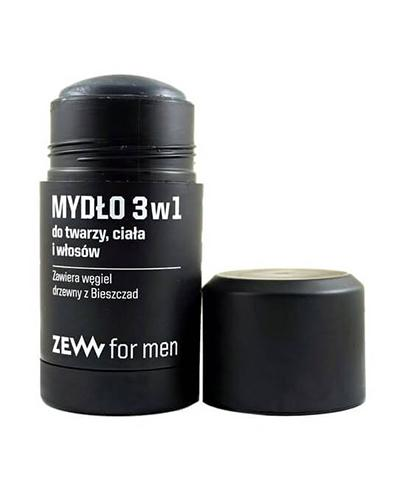 Zew For Men Mydło 3 w 1 do twarzy, ciała i włosów  - 85 ml - cena, opinie, skład - Drogeria Melissa