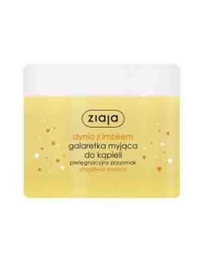 ZIAJA DYNIA Z IMBIREM Galaretka myjąca do kąpieli Straszliwa słodycz - 260 ml