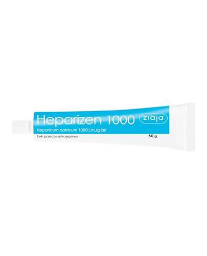 ZIAJA HEPARIZEN Żel 8,5 mg w 1 g - 50 g - Apteka internetowa Melissa