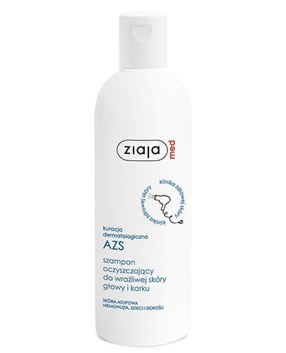 ZIAJA MED Kuracja dermatologiczna AZS Szampon oczyszczający do wrażliwej skóry głowy i karku - 300 ml - Apteka internetowa Melissa