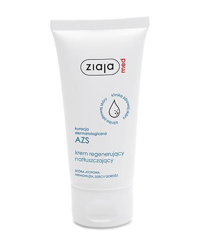 ZIAJA MED Kuracja dermatologiczna AZS Krem regenerujący natłuszczający - 50 ml - Apteka internetowa Melissa
