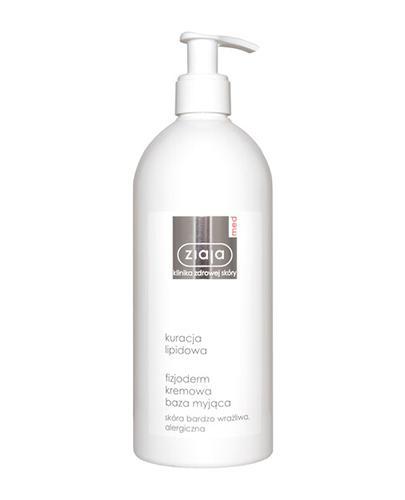 ZIAJA MED Kuracja Lipidowa Fizjoderm kremowa baza myjąca do skóry alergicznej, atopowej - 400 ml - Drogeria Melissa