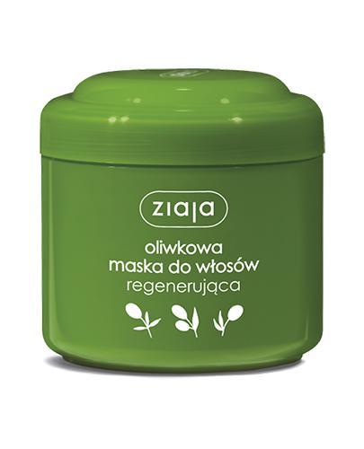 ZIAJA OLIWKOWA Maska do włosów regenerująca - 200 ml - Drogeria Melissa