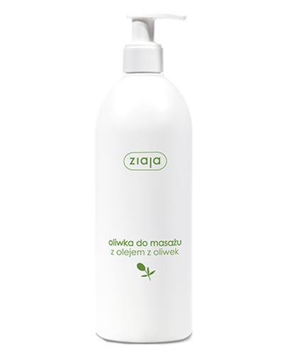 ZIAJA OLIWKOWA Naturalna oliwka do masażu - 500 ml - Apteka internetowa Melissa
