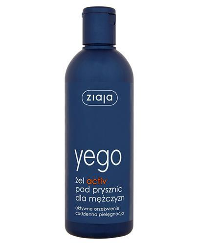 ZIAJA YEGO Żel activ pod prysznic dla mężczyzn - 300 ml - cena, opinie, wskazania - Apteka internetowa Melissa