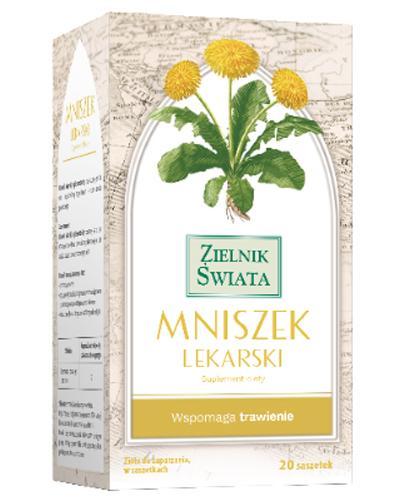 ZIELNIK ŚWIATA Mniszek lekarski - 20 sasz. - Apteka internetowa Melissa