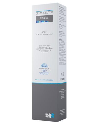 ZINALFAT Krem kojąco-regenerujący - 50 ml - cena, opinie, wskazania - Drogeria Melissa