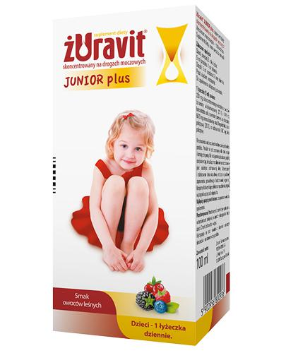 ŻURAVIT JUNIOR PLUS Syrop - 100 ml - cena, opinie, stosowanie